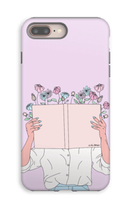 Book Of Flowers case IPhone 8 Plus tough