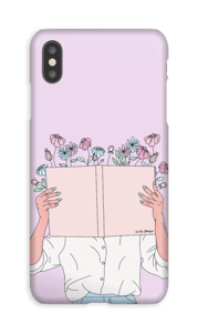Book Of Flowers case IPhone XS Max