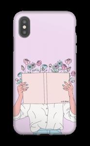 Kukkakirja kuoret IPhone XS Max tough