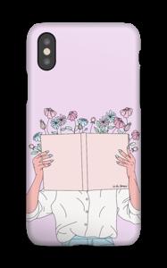 Blomsterbok deksel IPhone XS