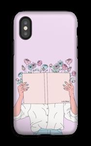 Blomsterbok deksel IPhone XS tough