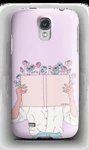 Blomsterbok deksel Galaxy S4