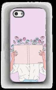 Blomsterbok deksel IPhone 5/5s tough