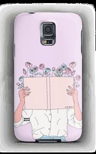 Blomsterbok deksel Galaxy S5