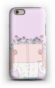 Book Of Flowers case IPhone 6 tough