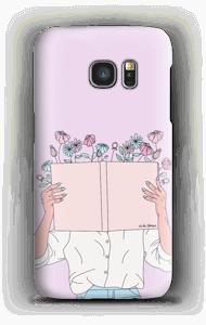 Blomsterbok deksel Galaxy S7