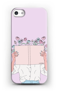Book Of Flowers case IPhone SE