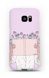Book Of Flowers case Galaxy S7 Edge