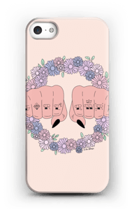Girl PWR case IPhone SE