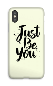 Just Be You case IPhone X