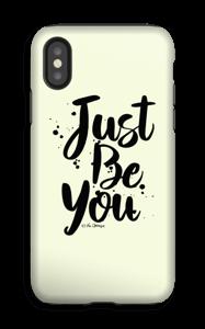 Just Be You deksel IPhone XS tough
