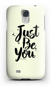 Just Be You deksel Galaxy S4
