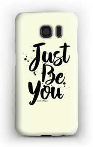 Just Be You deksel Galaxy S6