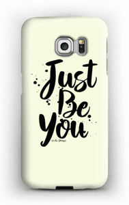 Just Be You deksel Galaxy S6 Edge
