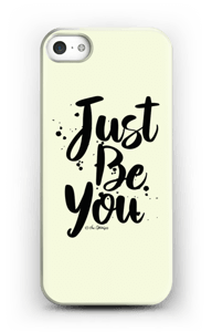 Just Be You case IPhone SE