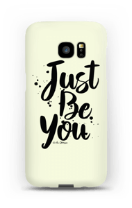 Just Be You deksel Galaxy S7 Edge