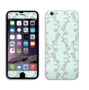 Light Pink Flowers Skin IPhone 6/6s