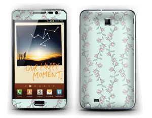 Mini Blumen Skin Galaxy Note