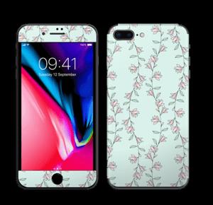Light Pink Flowers Skin IPhone 8 Plus