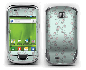 Light pink flower  Skin Galaxy Mini