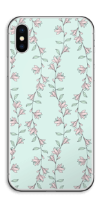Light pink flower  Skin IPhone X