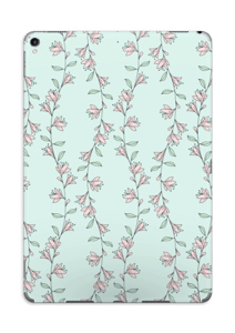 Light Pink Flowers Skin IPad Pro 10.5