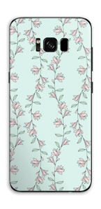Light Pink Flowers Skin Galaxy S8 Plus