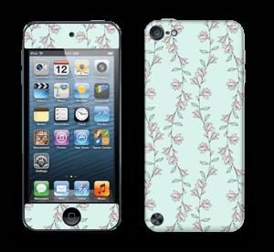 Light Pink Flowers Skin IPod Touch 5th Gen