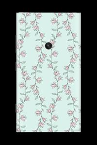 Light pink flower  Skin Nokia Lumia 920