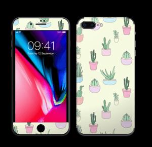 Cactus All Over Skin IPhone 8 Plus