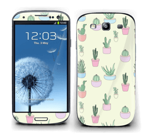 Cactus All Over Skin Galaxy S3