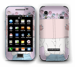 Book Of Flowers Skin Galaxy Ace