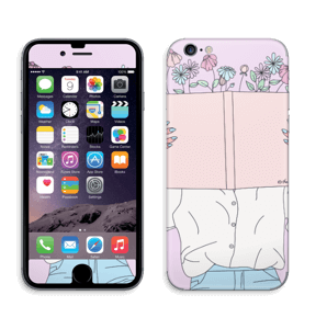Book Of Flowers Skin IPhone 6/6s