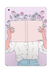 Book Of Flowers Skin IPad 2017