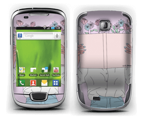 Book Of Flowers Skin Galaxy Mini