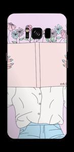 Blumengeschichte Skin Galaxy S8