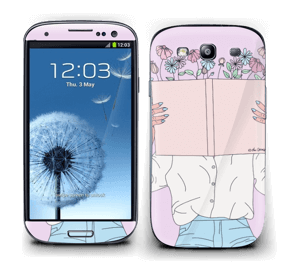 Book Of Flowers Skin Galaxy S3
