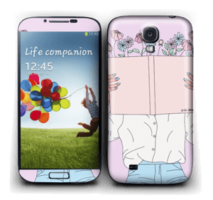 Book Of Flowers Skin Galaxy S4