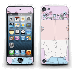 Book Of Flowers Skin IPod Touch 5th Gen