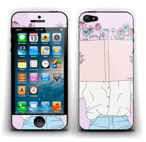 Book Of Flowers Skin IPhone 5