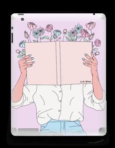 Book Of Flowers Skin IPad 4/3/2