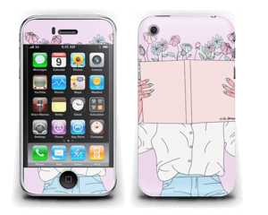Book Of Flowers Skin IPhone 3G/3GS