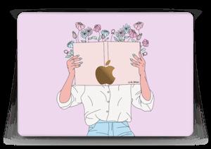 """Bouquin fleuri Skin MacBook 12"""""""