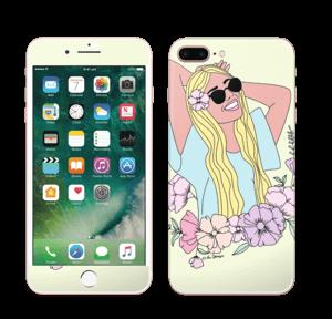 Blondie Fleurie Skin IPhone 7 Plus