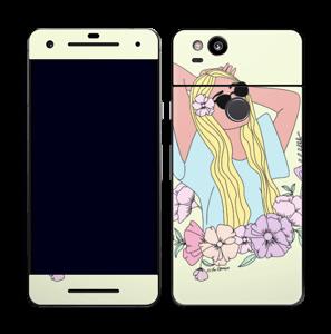 Blondie Fleurie Skin Pixel 2