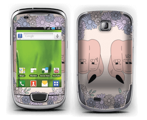 Girl PWR  Skin Galaxy Mini