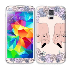 Girl PWR  Skin Galaxy S5