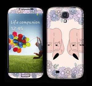 Girl PWR Skin Galaxy S4