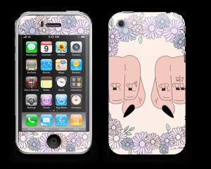 Girl PWR Skin IPhone 3G/3GS