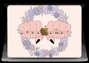 """Girl PWR ! Skin MacBook 12"""""""